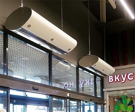 Тепловые водяные завесы Тепломаш в Красноярске: купить в магазине Дисконт климат