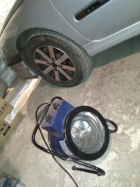 Электрические теплопушки пригодятся в гараже