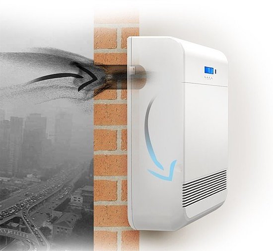 Самый простой вариант вентиляционной установки для своего дома - бризер