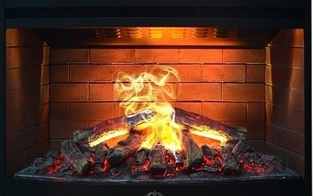 Камин с эффектом живого огня