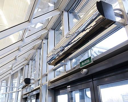 Воздушно-тепловая завеса Ballu серии BHP с доставкой по Красноярску в интернет-магазине Дисконт Климат