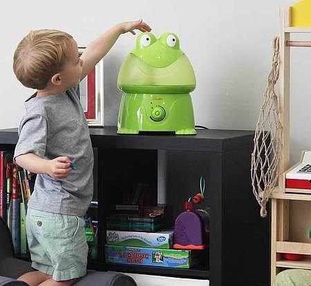 Детям понравятся увлажнители Crane изготовленные специально для них