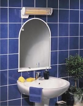 Обогреватель в ванную комнату купить в Красноярске