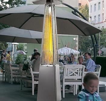 Уличный обогрев с помощью длинноволнового нагревателя ИК диапазона - оптимальный вариант!